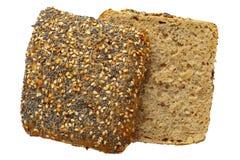 全麦小圆面包 库存照片
