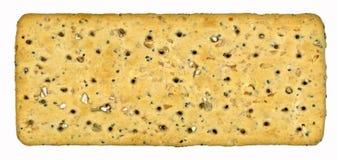 全麦薄脆饼干 免版税库存照片