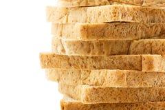 全麦面包纹理 免版税库存照片