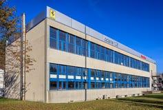八炭烷126公司建筑物在Wallisellen,瑞士 免版税库存图片