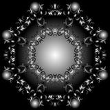 八角型抽象 免版税库存图片
