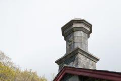 八角型被设计的烟囱管帽 图库摄影