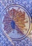 八角形物马赛克彼得` s议院加利利海Capernaum以色列 免版税库存图片