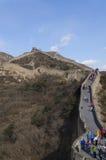 八达岭长城在延庆县北京中国在1504建立了在明代期间1015海拔米 库存图片