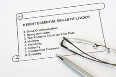 八重要领导先锋技能 图库摄影