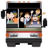 公交运输 库存照片