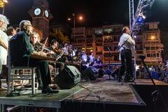 公众教育中心古典音乐唱诗班 免版税库存照片