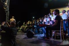 公众教育中心古典音乐唱诗班 免版税图库摄影