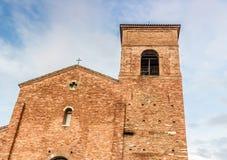 1000公元罗马教会 库存图片