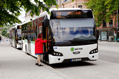 公共交通公共汽车 免版税库存图片