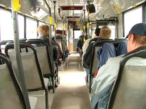 公共交通工具 免版税库存照片