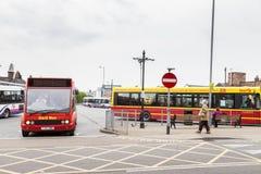 公共交通工具 图库摄影