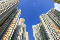 公共住房在香港 库存图片
