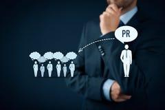 公共关系PR 免版税图库摄影
