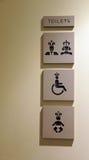 公共厕所 图库摄影