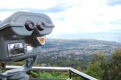 公共双筒望远镜 免版税库存图片