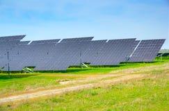 太阳电池板。 免版税库存照片