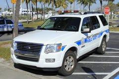 公共安全助手卡车 免版税库存图片