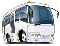 公共汽车动画片向量 免版税库存照片