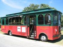 公共汽车台车威明顿 免版税库存图片