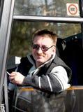 公共汽车司机 免版税图库摄影