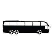 公共汽车向量 图库摄影