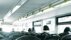 公共汽车在柏林 免版税库存图片
