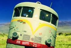 公共汽车在非洲 库存图片