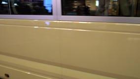 公共汽车在香港 影视素材