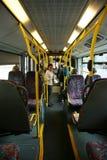 公共汽车城市内部伦敦 免版税图库摄影