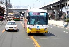 公共汽车城市 图库摄影