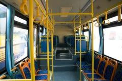 公共汽车城市 库存图片
