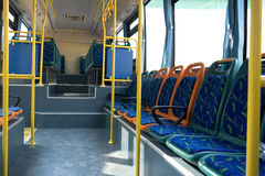 公共汽车城市 免版税库存照片