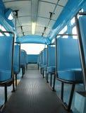 公共汽车城市 免版税图库摄影