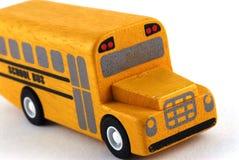 公共汽车学校玩具 免版税库存照片