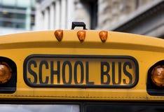 公共汽车学校 库存图片