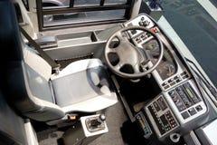 公共汽车客舱教练 免版税图库摄影
