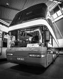公共汽车尼奥普兰128/4 Megaliner, 1993年 图库摄影