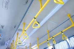 公共汽车把柄 免版税库存照片