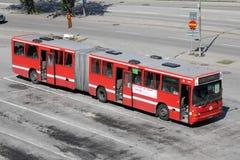 公共汽车斯德哥尔摩volvo 库存照片