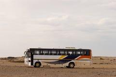 公共汽车沙漠 免版税库存照片