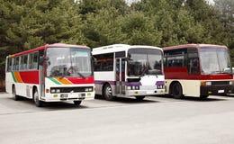 公共汽车游人 库存图片