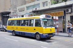 公共汽车澳门服务 免版税库存图片