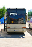 公共汽车现代新 免版税库存图片