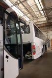 公共汽车生产 库存图片