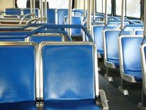 公共汽车空座位 免版税库存照片