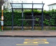 公共汽车站 免版税图库摄影