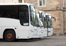 公共汽车线路 库存图片