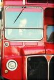 公共汽车详细资料伦敦 免版税库存图片