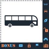 公共汽车象舱内甲板 向量例证